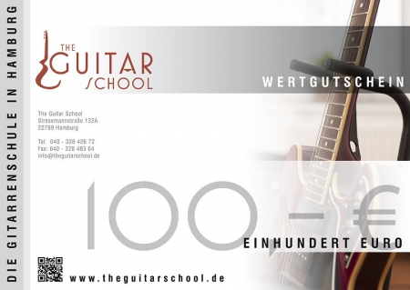 Wertgutschein 100 The Guitar School