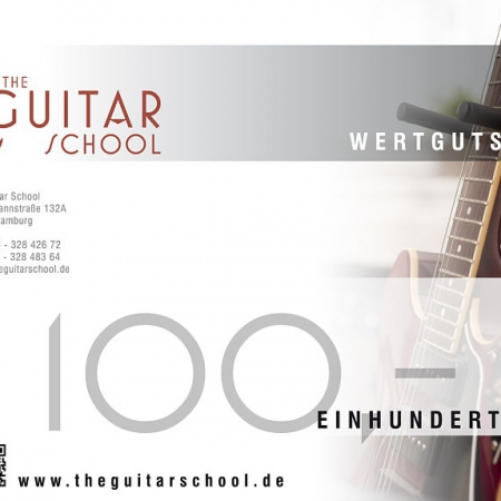 Wertgutschein 100 The Guitar School
