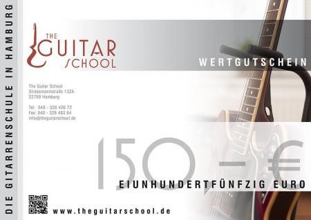 Wertgutschein 150 The Guitar School
