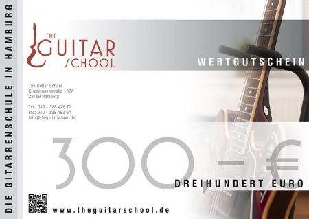 Wertgutschein 300 The Guitar School