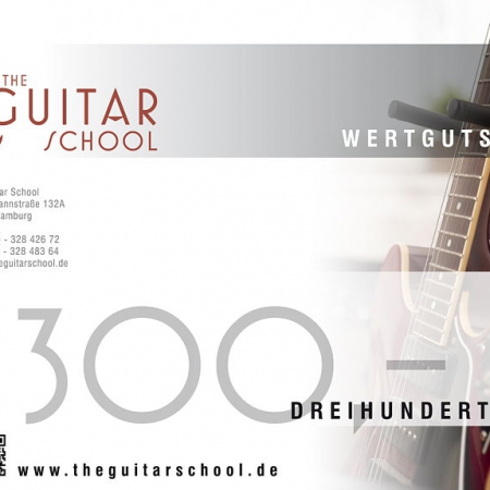 Wertgutschein 300 The Guitar School