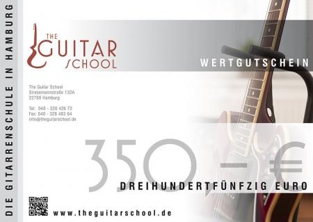 Wertgutschein 350 The Guitar School