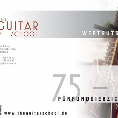 Wertgutschein 75 The Guitar School