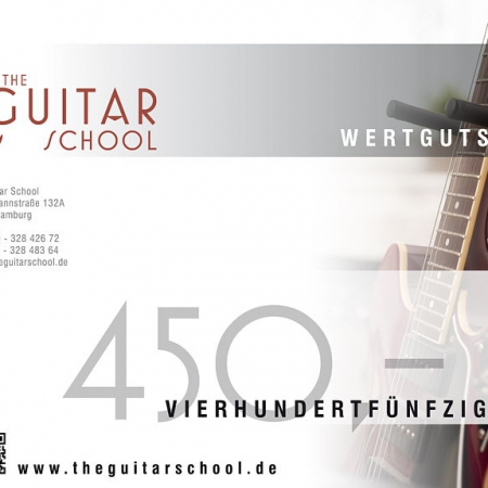Wertgutschein 450 The Guitar School