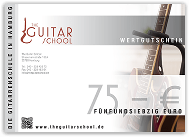 Gutschein - The Guitar School