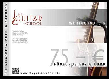 Gutschein - The Guitar School