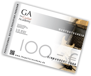 Gutschein 100.-€ The Guitar Academy
