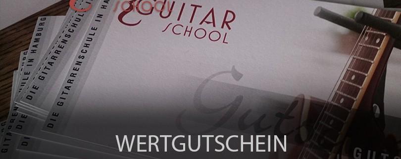 Wertgutscheine - The Guitar School