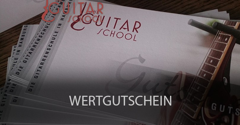 Wertgutscheine - The Guitar School