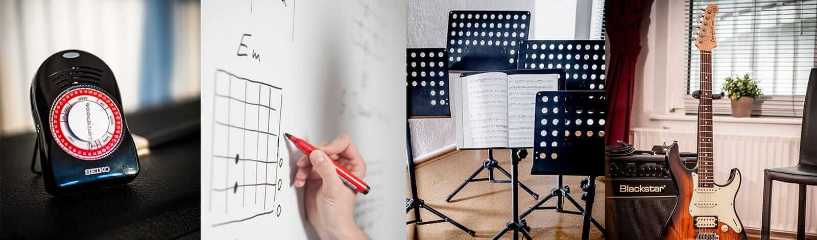 Probestunde Gutscheine - The Guitar School